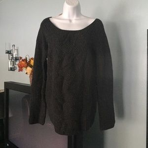 Gap cable Heather Sweater
